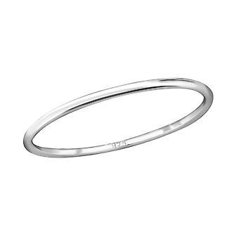 Bande - 925 Sterling Silver plaine anneaux - W29250X
