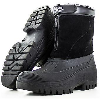 Outdoor Look Mens Womens Drift Mukka Lined Winter Snow Boots