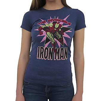 Iron Man Invincible Burst Women's T-Shirt
