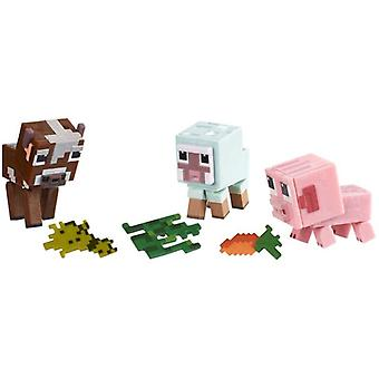 Minecraft dier in 3-pack