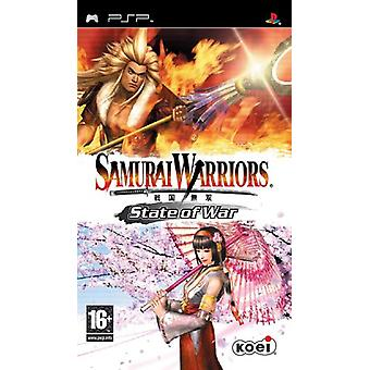 Samurai Warriors State of War (PSP)-fabriek verzegeld