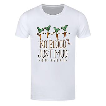 T-shirt Grindstore Mens No Blood Just Mud Vegan