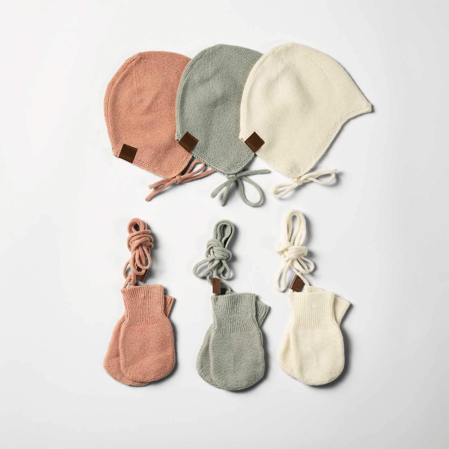 Elodie details - vintage mittens - mineral green