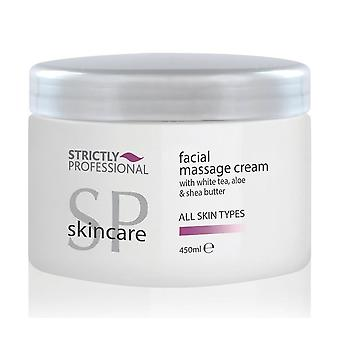 Strictly Professional Facial Massage Cream All Skin Types 450ml