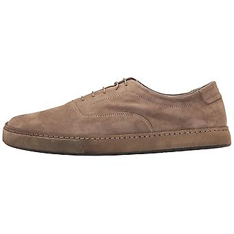 Vince Mens Norris Leather Low Top Lace Up Fashion Sneakers