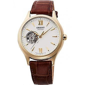 Orient - Wristwatch - Ladies - Mechanical Contemporary Watch, Leather Strap - 35.9mm (RA-AG0024S)