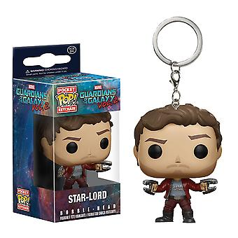 Guardians of the Galaxy Vol. 2 Star-Lord Pocket Pop Keychain