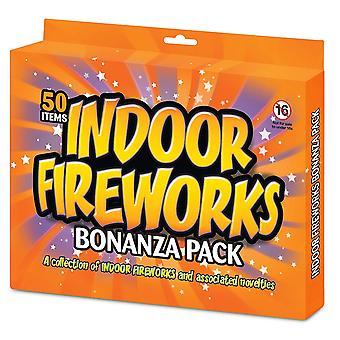Indoor Fireworks Bonanza selection pack (50 pieces)