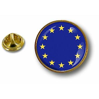 Pine PineS badge PIN-apos; s metalen knop vlag Cocarde Europe Union Europeenne UE CEE
