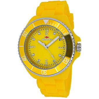 Seapro Frauen's Sea Bubble Yellow Dial Uhr - SP7417