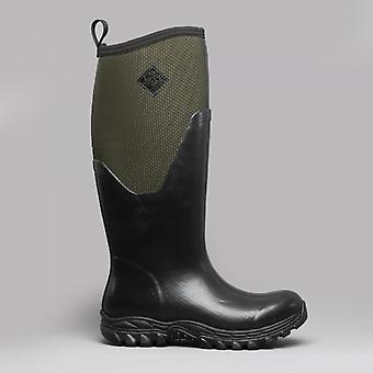 Muck Boots Arctic sport II tall damer Wellington stövlar svart/Moss