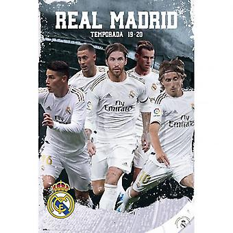 Real Madrid Poster Players 25