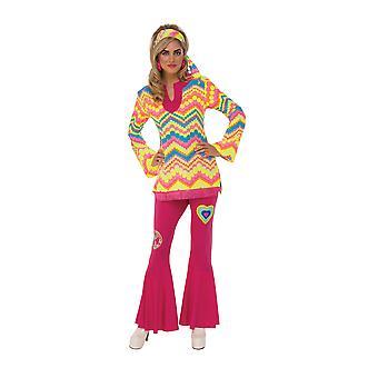 Bristol Novelty Womens/Ladies Mod Girl Costume