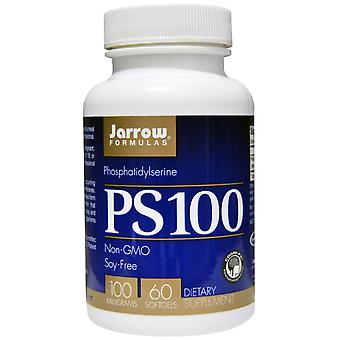 PS100, Phosphatidylserin 100 mg (60 Softgels) - Jarrow Formeln