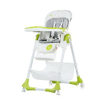 Chipolino high chair gelato, cup recess, high edge, multiple adjustable