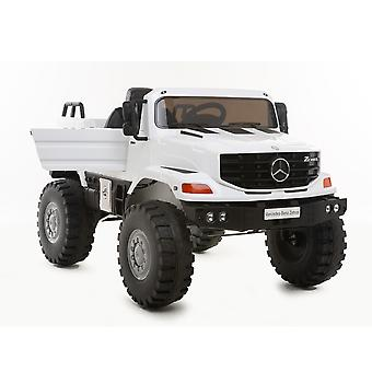 Children's Electric Car Mercedes Zetros, Leather Seat, MP3, Radio, Shock absorber, Lights