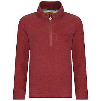 Regatta Blush Childrens Oaklands 1/4 Zip Fleece