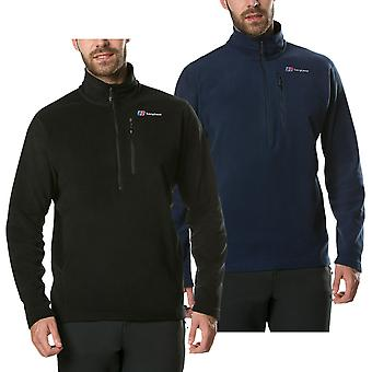 Berghaus mens Prism Micro Polartec halv zip varm fleece slitstark tröja