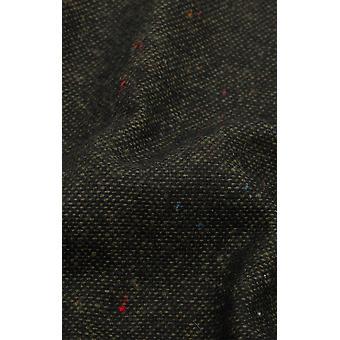 Dobell Mens Green Flecked Donegal Tweed Handkerchief