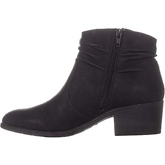 White Mountain Womens uptown Leather Closed Toe Ankle Fashion Boots