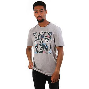 Ted Baker Mens Litall Graphic T Shirt