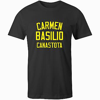 Carmen Basilio Boxing Legend T-Shirt