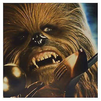 Hallmark Star Wars Chewbacca 16 X 16cm Blank Card