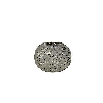 Light & Living Tealight 12.5x8.5cm - Tewah Gold