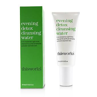 Evening Detox Cleansing Water 200ml/6.8oz