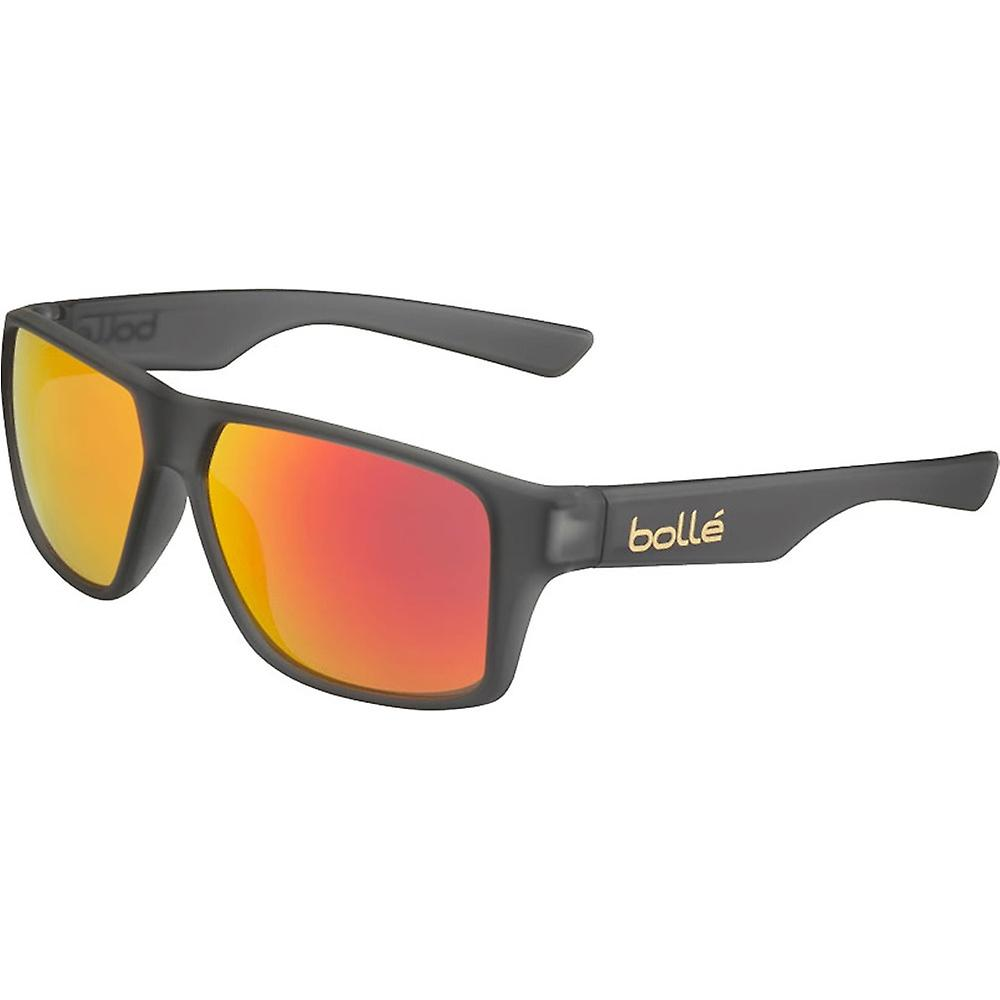 Bolle Brecken Sunglasses (Matt Grey Crystal Frame TNS Fire Lens)