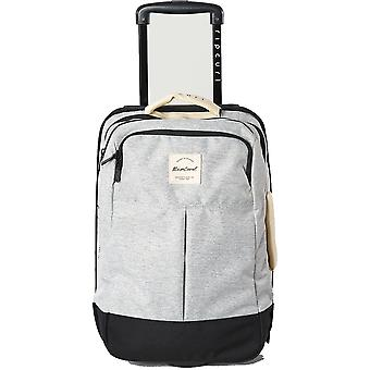 Rip Curl F-Light Cabin Mix Wave Wheeled Luggage in Grey