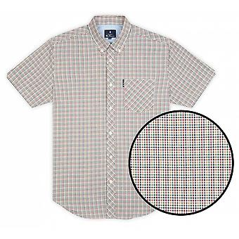 BEN SHERMAN Ben Sherman Mini Gingham Check Shirt