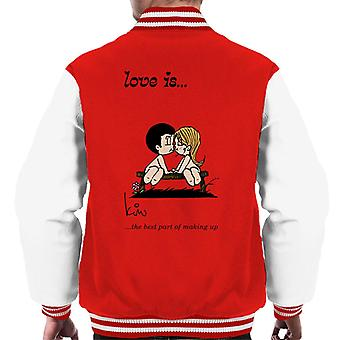 Love Is The Best Part Of Making Up Men's Varsity Jacket