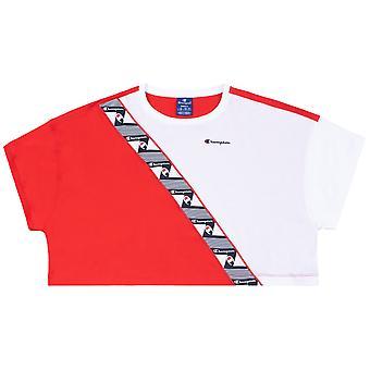 Champion camiseta femenina cuello redondo Croptop 112767