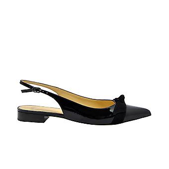 Alexandre Birman Finablack Women's Black Patent Leather Sandals