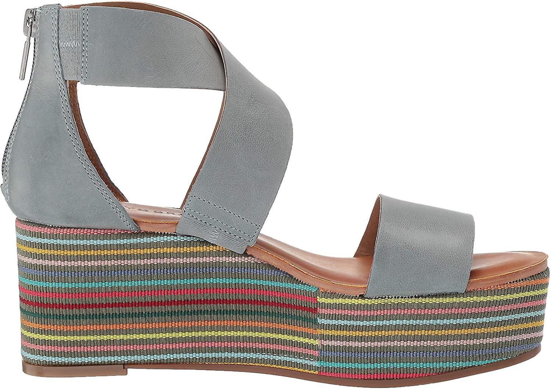 Lucky Brand Women's GWINDOLIN Espadrille Wedge Sandal, Chmura, 9 M STANY ZJEDNOCZONE epWYO