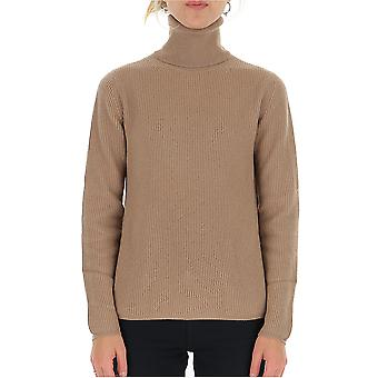 'S Max Mara 93660393000133016 Femmes-apos;s Beige Wool Sweater