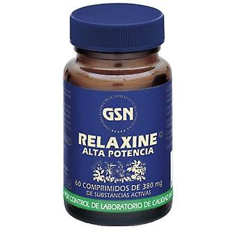 GSN Relaxine Premium 60 Tablets 380 mg