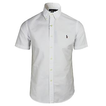 Ralph lauren men's white oxford shirt