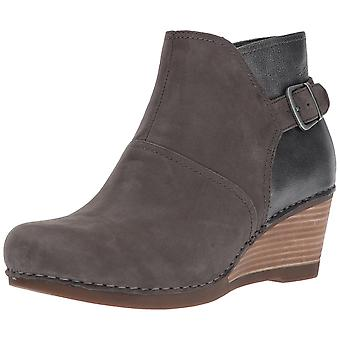 Dansko Womens Shirley Nubuck Leather Closed Toe Ankle Fashion Boots
