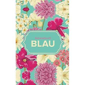 Adressbuch Blau by Us & Journals R
