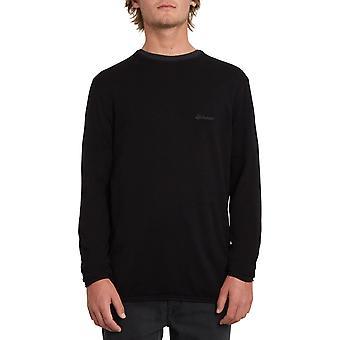 Volcom Ratley Sweater Jumper in Black