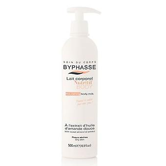 Byphasse Almond Body Milk for Dry Skin 500 ml