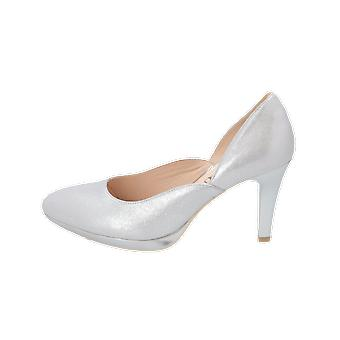 Caprice N/A Women's Pumps Silver High Heels Stilettos Heel Shoes