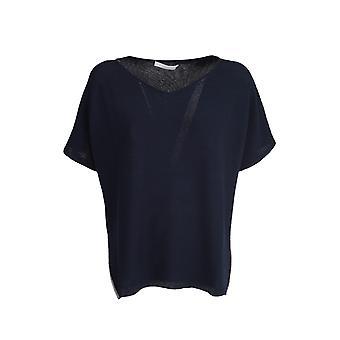 Fabiana Filippi Mad270w831v2885101 Women's Blue Acetate Sweater