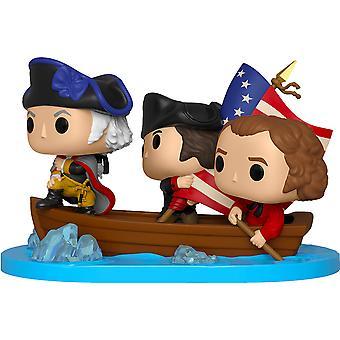 Amerikanische Geschichte George Washington Crossing Delaware Pop! Mo