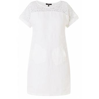 Yest White Lace Detailed Dress