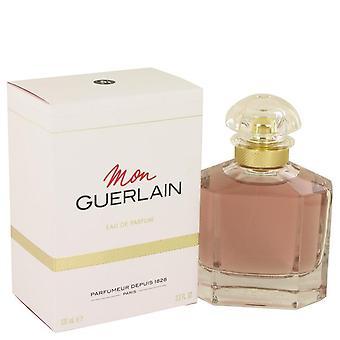Mon Guerlain Eau De Parfum Spray By Guerlain 3.3 oz Eau De Parfum Spray