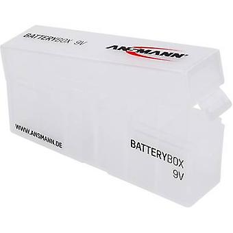 Ansmann Box 9V Battery box 6x 9V PP3 (L x W x H) 125 x 34 x 53 mm