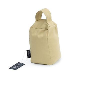 Essentiels par Loft 25 Pebble Cotton Twill Door Stop Bag Weight with Carry Handle